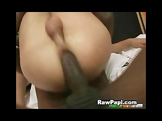 Latino men and black guy in hardcore interracial bareback fucking