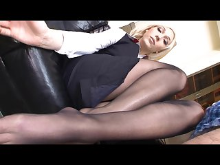 Lily labeau footjob