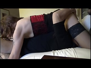 2 milf trannys fun with fan cougarcd and tvtori Part1