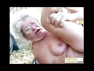 Old woman made to suck