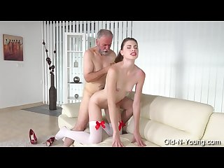 Milena devi aka ilona young escort fucks him