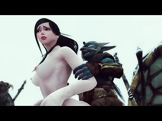 Monster Hentai - The Riekling Tribe\'s Fury - Skyrim