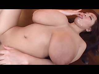 Busty facial and creampies