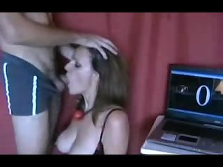 Longest deepthroat amateur milf breaks all deepthroat records