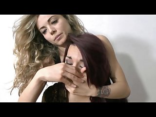 Preview liv handgag and handsmother alisha in bondage