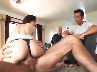 Wife summer tastes new cock and husband watches