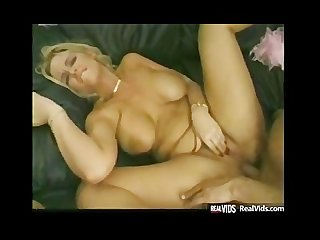 Plump blonde getting anal plessing