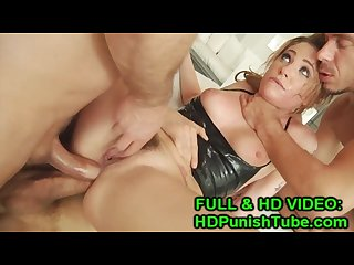 Ahlia sky first ever double vaginal anal triple pen www hdpunishtube com