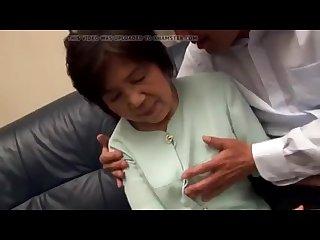 Asian granny suck cock 2