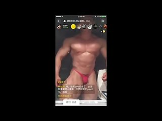 Muscle China guy live show part2