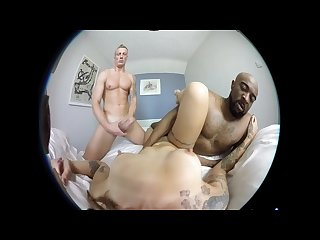 Female pov vr 3d Dp porn double penetration threesome with luke and dru
