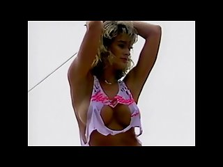 Tiffany ann smoking hot 90s bikini contest girl music video