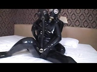 Japanese lesbian latex breathplay