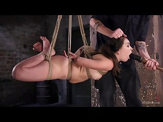 Juliette march endures brutal bondages and made to cum