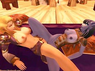 Warcraft lesbian babes