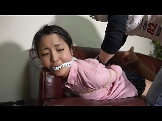 Self bondage jp girl in trouble