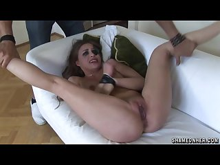 Hungarian slut in a package of pain