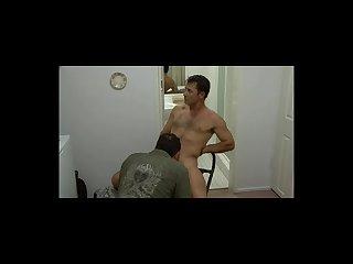 Australian cowboy cums 3 times