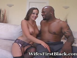 Wife rides huge strangers cock