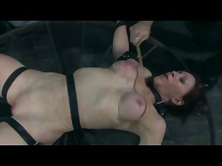 Red head abs torture part 2