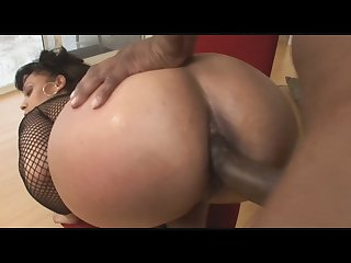 Your big booty ebony step mom gets anal fucking