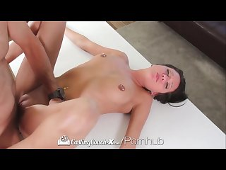 Sexy brooke myers takes her turn on the casting couch castingcouch x