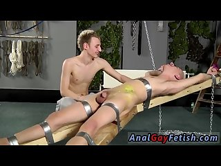 Watch gay bondage Twink fucks hunk and brutal gay bondage fisting porn