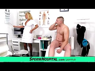 Milf boy tugjob featuring hot czech uniform cougar koko margit