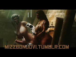 Brown Sugar a skyrim futa machinima