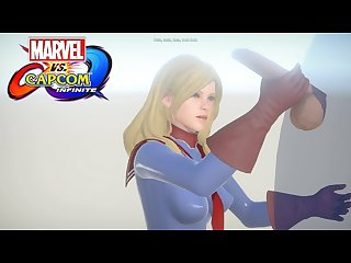 Marvel vs capcom infinite captain marvel hentai