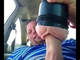 Tonny Fleshlight fun at lunchtime