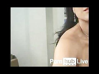 Sweeet nadis from pornhublive spreads her pussy