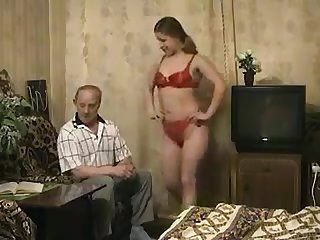 Naughty grandpa found his granddaughter very sexy