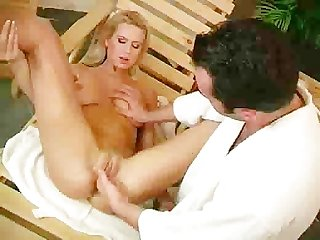Euro blonde takes a cock instead of a shower