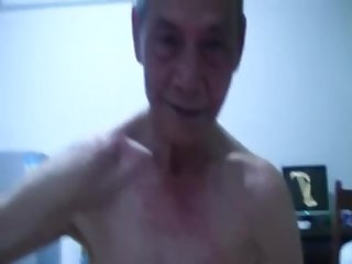 Chimese grandpa oral sex