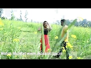 Young beautiful couple romance at outdoor hot video