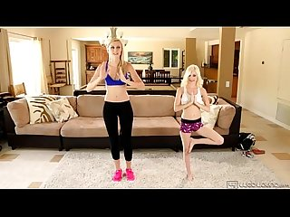 Lesbian sex after fitness lesson alexa grace and piper perri