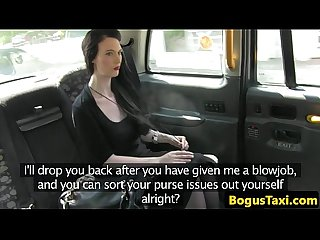 Real euro amateur pussy pleasured by cabbie