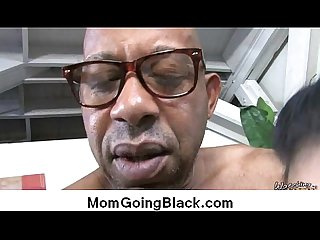 Watch milf going black : Interracial free porn 8