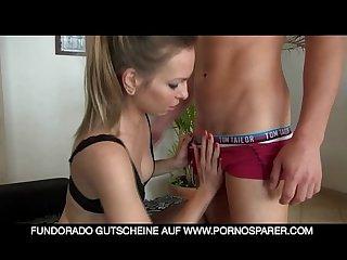 German milf anal entjungfert und creampie