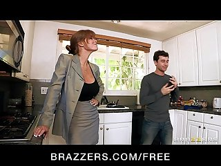 Hot big tit redhead milf slut saleswoman fucks client S hard dick