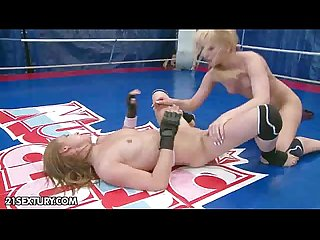 NudeFightClub presents Celine Doll vs Aleska Diamond