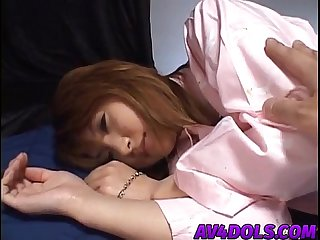 Asumi mizuno horny asian schoolgirl sucks dick and gets pussy banged hard