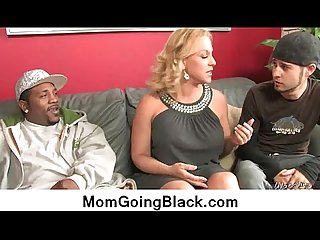 My mom go black : Hardcore interracial video 21