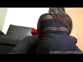 Summer breeze sucks and fucks her way into the porn business comma gratecumvideos