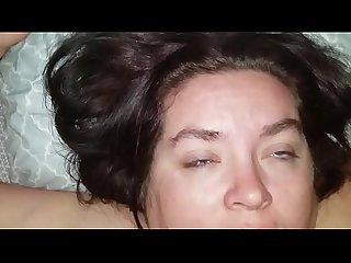 Sexy bbw butt fucked so hard she shits