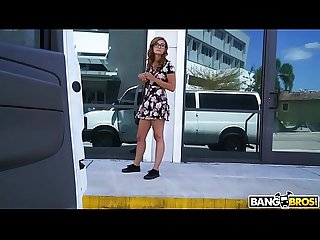 Bangbros helping out a young Redhead out of towner named kadence marie