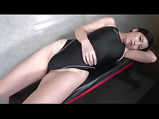 Maria sano high leg swimsuit Black lpar part2 rpar lpar 2 sol 2 rpar legs fetish image Video no soun