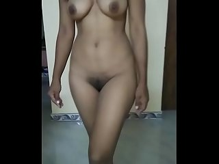 Tamil girl stripping for fun