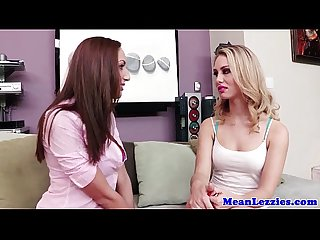 Beautiful lesbian charlee monroe strapon fun